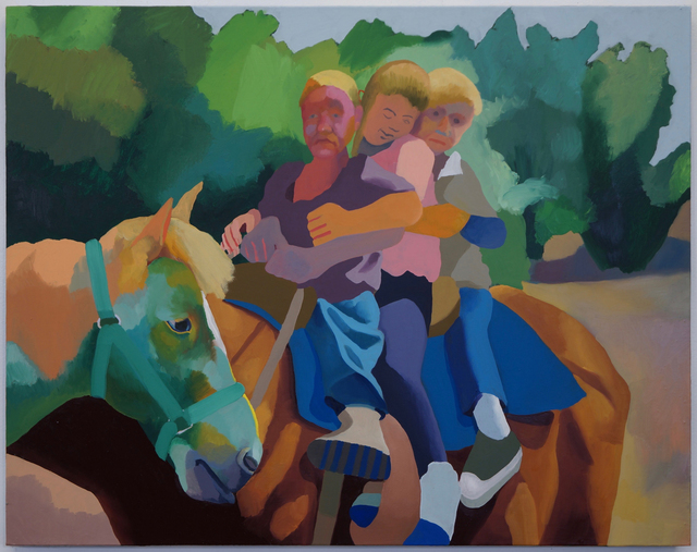 , 'A Horse Named Emerald,' 2016, Stuart & Co. Gallery