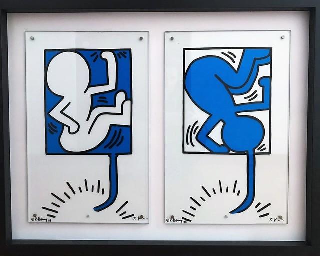 Keith Haring, 'On Giro On Taro', 1988, Verosa