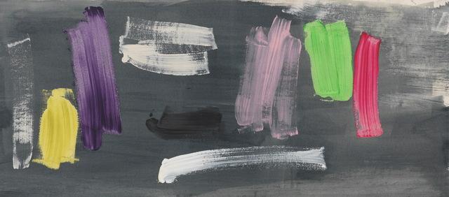 , 'Captain Black 布莱克船长,' 1982, PIFO Gallery