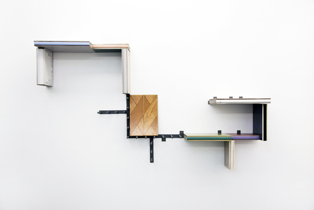 , 'Library with loose beige parts,' 2015, Athena Contemporânea