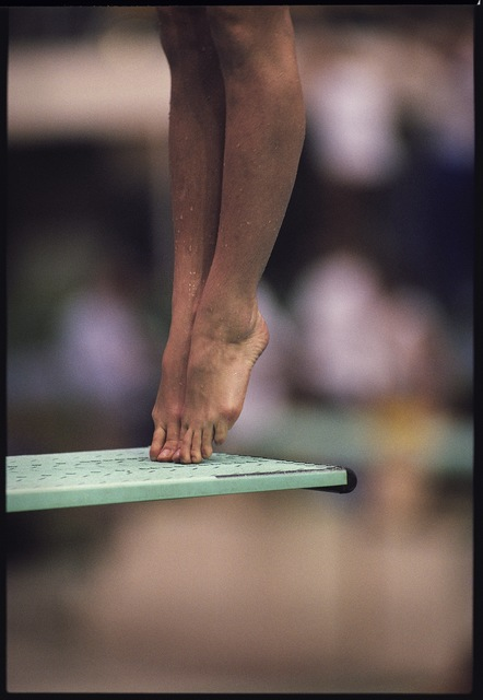 , 'Men's Platform Diving. Seoul, South Korea,' 1988, Anastasia Photo