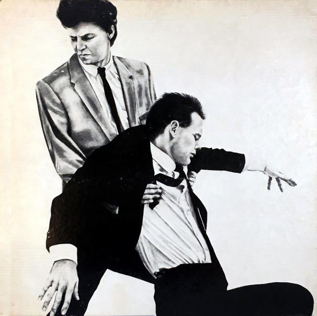 Robert Longo, 'Rare Original Robert Longo Vinyl Record Art (Men In The Cities)', 1981, Lot 180