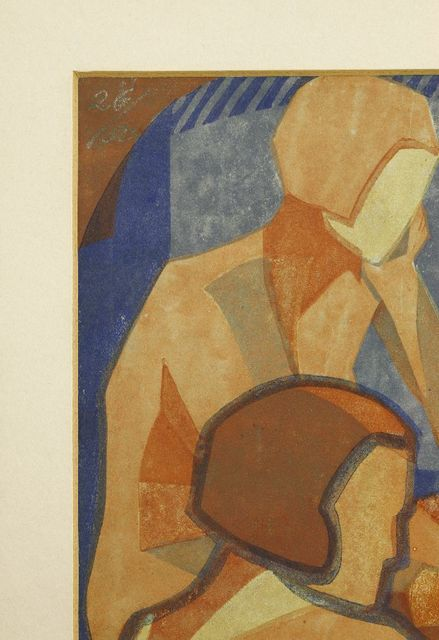Lill Tschudi, 'Nudes', 1933, Print, Linocut printed in colours, Sworders
