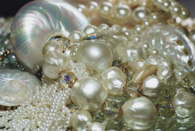 , 'Nautilus Pearls Study,' 2015, Mark Moore Fine Art