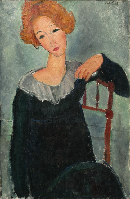 Amedeo Modigliani, 'Woman with Red Hair', 1917, National Gallery of Art, Washington, D.C.