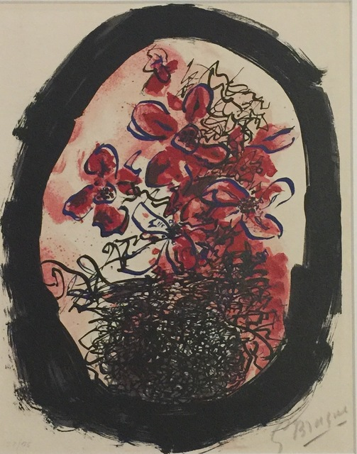 , 'Frontispiece from Braque Lithographe,' 1961, Wallector