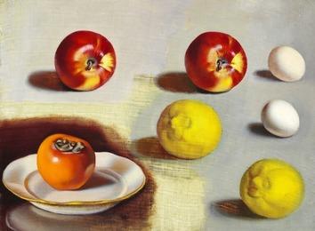 Etude de pommes et citrons (Apples and Lemons Study)