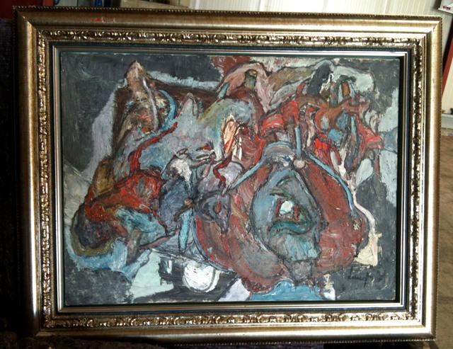 , 'Dechirures Nocturnes,' 1975, SkyGallery