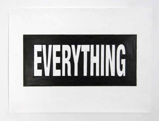 , 'Everything,' 2009, VICTORI+MO CONTEMPORARY
