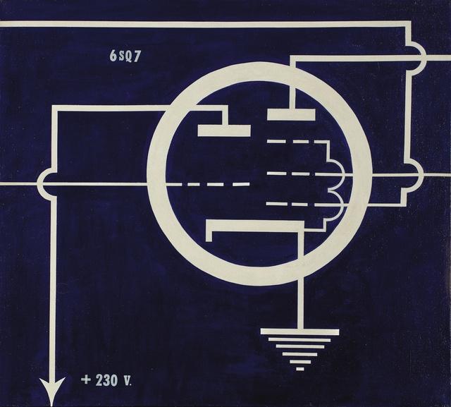 Allan D'Arcangelo, '6 SQ 7', 1963, Sotheby's
