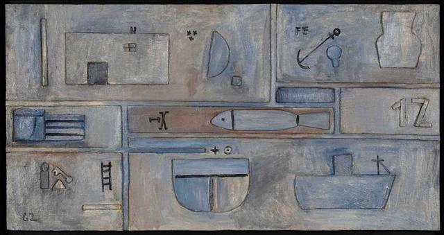 , 'White relief,' 1962, Galería de las Misiones