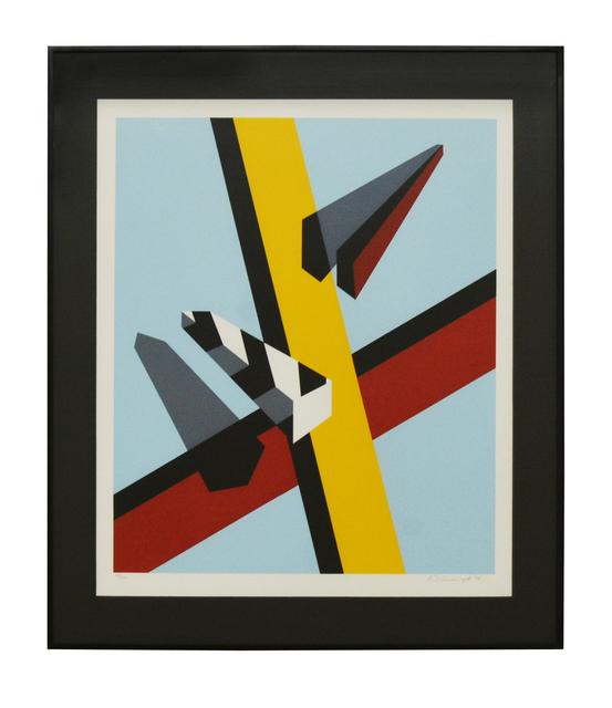 , 'Reflection,' 1978, Galeria Houssein Jarouche