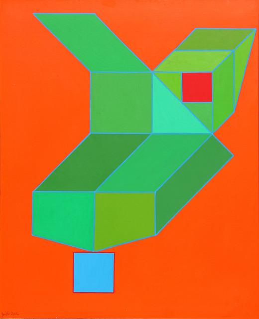 Achille Perilli, 'Eccolo!', 2006, Mixed Media, Mixed media on canvas, Ambrosiana Casa d'Aste