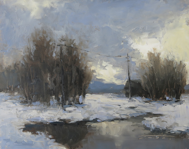 , 'Winter Clouds,' 2017, Abend Gallery