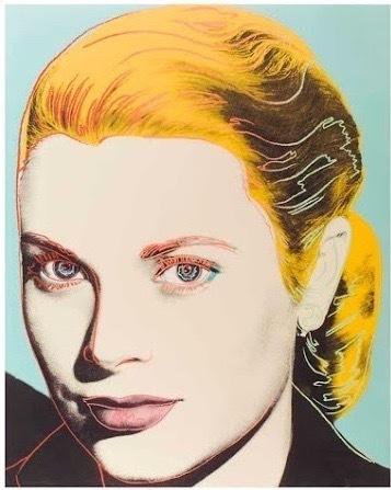 Andy Warhol, 'GRACE KELLY (F. & S. II.305)', 1984, Print, Screenprint in colors on Lennox Museum Board, Robin Rile Fine Art