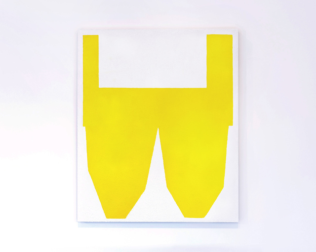 , 'Yellow on White II ,' 2017, Tappan