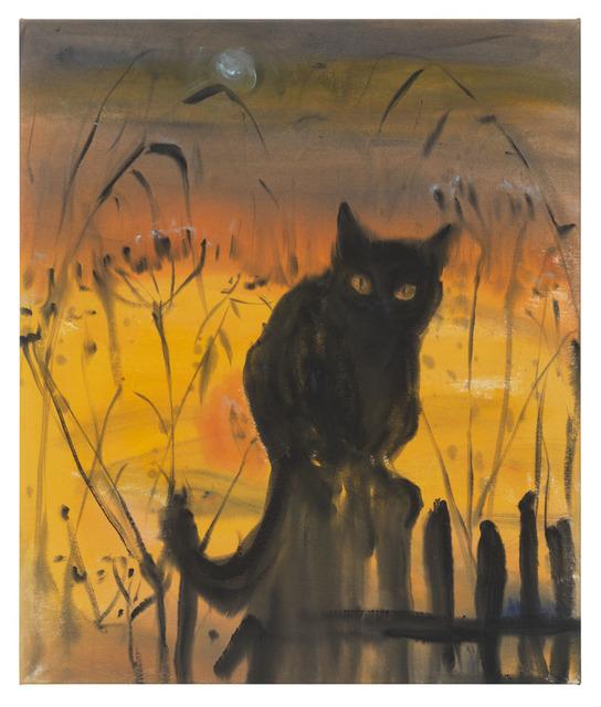 , 'Yellow evening,' 2018, DITTRICH & SCHLECHTRIEM