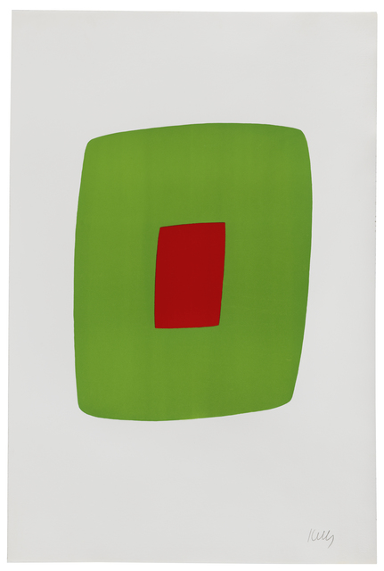 , 'Green with Red,' 1964-1965, Susan Sheehan Gallery