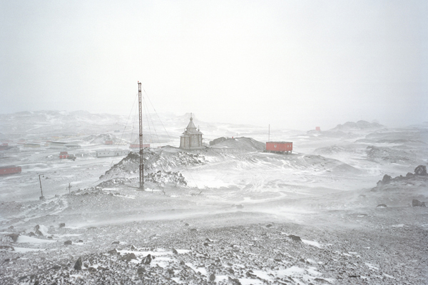 , 'Glacial, Icecap and Permafrost Melting XXXVI: Bellingshausen Base, King George Island, Antarctica,' 2008, The Brooklyn Rail Curatorial Projects
