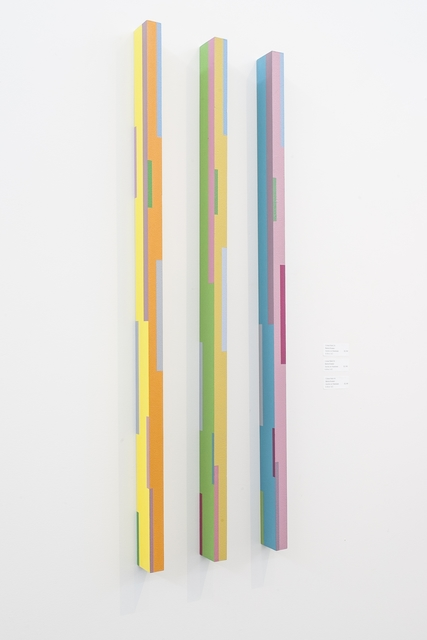 , 'Color Stick Triptych (2A, 3A, 4A),' 2012, Oeno Gallery