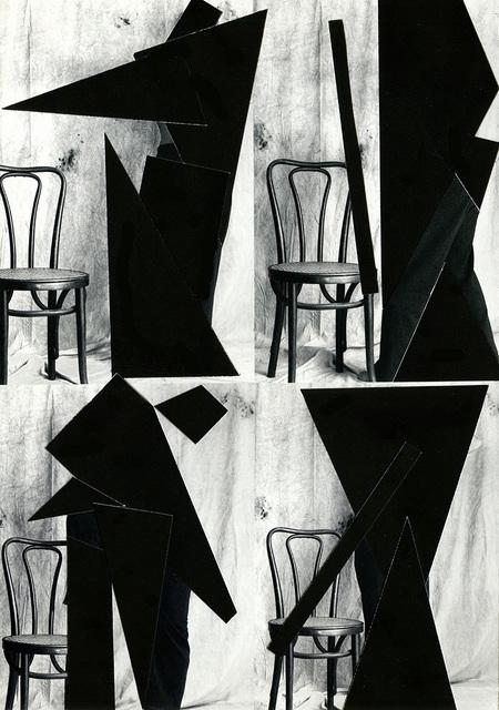 , 'SIllas con schlemer,' 2016, Galería Artizar