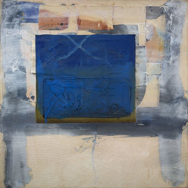 , 'Blue Patch,' 1998, Berry Campbell Gallery