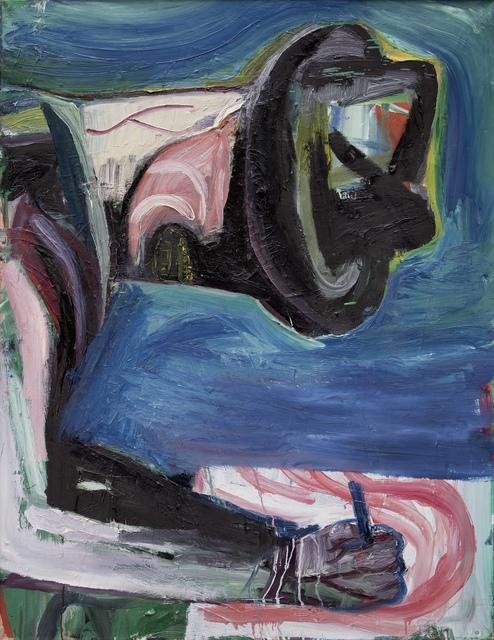 , 'Der Schreiber,' 1989, Galerie Tore Suessbier