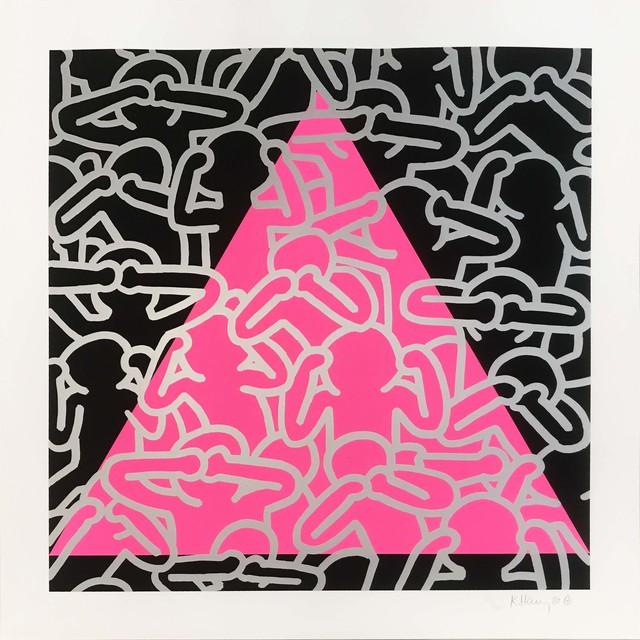 Keith Haring, 'Silence =  Death', 1989, Hamilton-Selway: Collector's Summer Preview