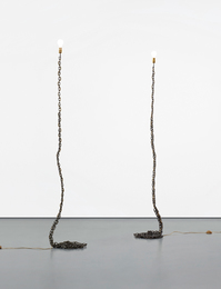 Franz West, 'Two works: (i-ii) Privat-Lampe des Künstlers II,' 1989, Phillips: New Now (February 2017)