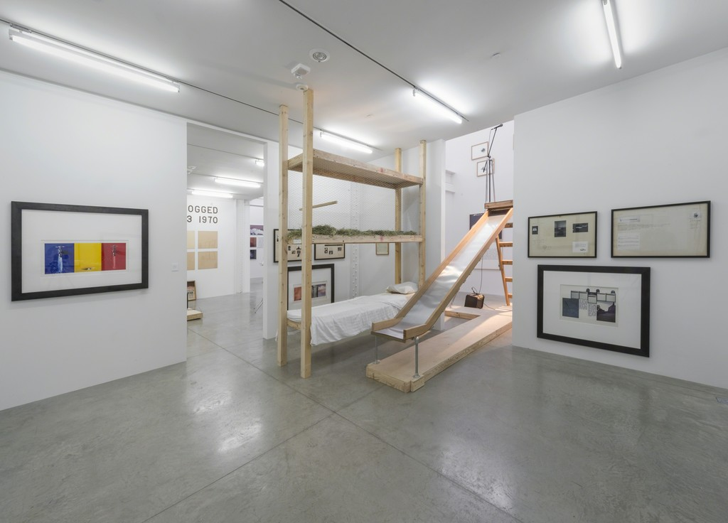 Bill Beckley: Installation view, 2015. Photo: Adam Reich