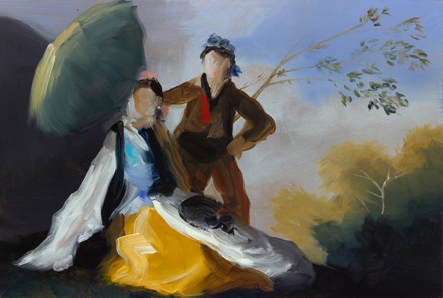 , 'Green Parasol III,' 2015, Cynthia Corbett Gallery