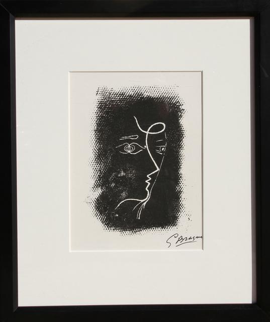 Georges Braque, 'Profil de Femme from Souvenirs de Portraits d'Artistes', 1972, Print, Lithograph, RoGallery