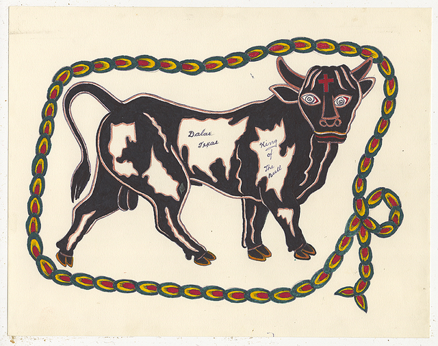 , 'Untitled (Bull Dallas Texas),' 1950-1980, Ricco/Maresca Gallery