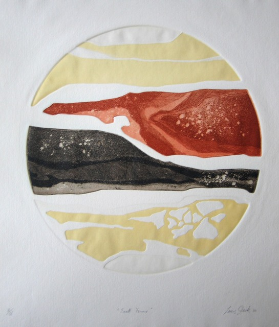 , 'Earth Forms,' , Sydney Printmakers