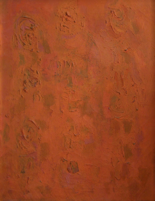 Ralph Wickiser, 'Orange Compassion', 1954, Walter Wickiser Gallery
