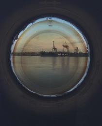 Portholes (Black Boat)