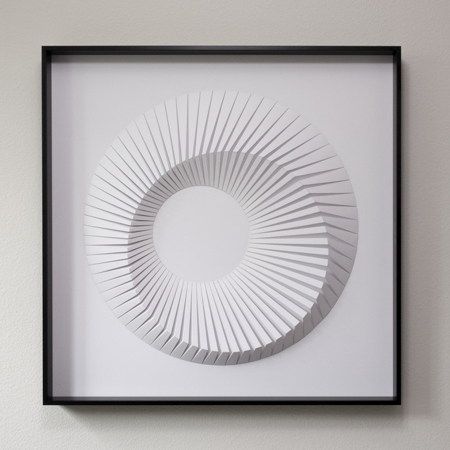 , 'Eclipse D White,' 2018, Contempop Gallery