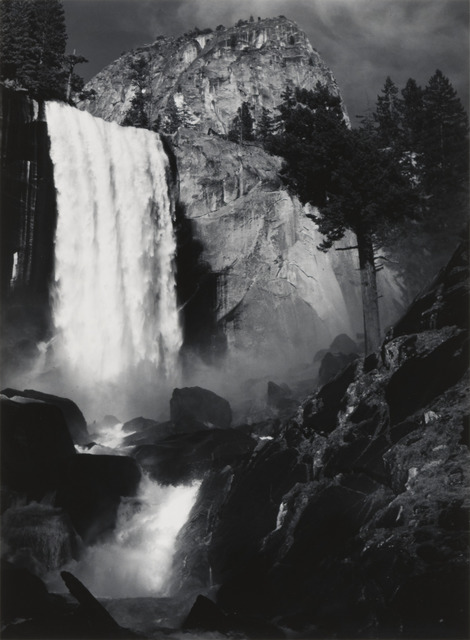 , 'Vernal Fall, Yosemite National Park, California,' ca. 1948, The Ansel Adams Gallery