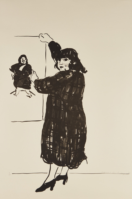 David Hockney, 'Ann Looking at Her Picture', 1980, Phillips