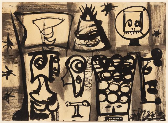 Adolph Gottlieb, 'Composition', 1947, Hindman