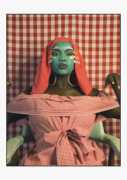 , 'Self Portrait in Gingham no.2 ,' ca. 2018, MARS