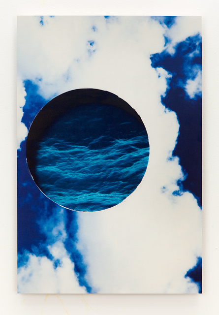 , 'water and sky,' 2015, Erin Cluley Gallery