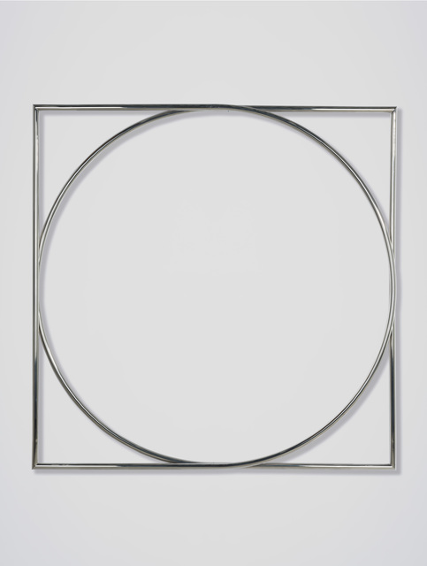 , 'Vierkant en cirkel in overgang,' 1970, BorzoGallery
