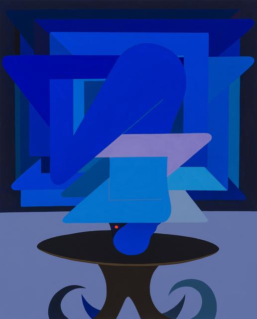 , 'Figure As Object, (Blue),' 2018, V1 Gallery