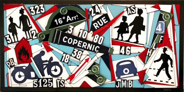 Fernando Costa (AKA COSTA), 'Copernic', 2018, Galerie Art Jingle