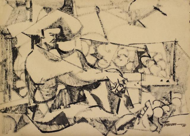 , 'Vendedor de Frutas,' 1955, Galería Nudo