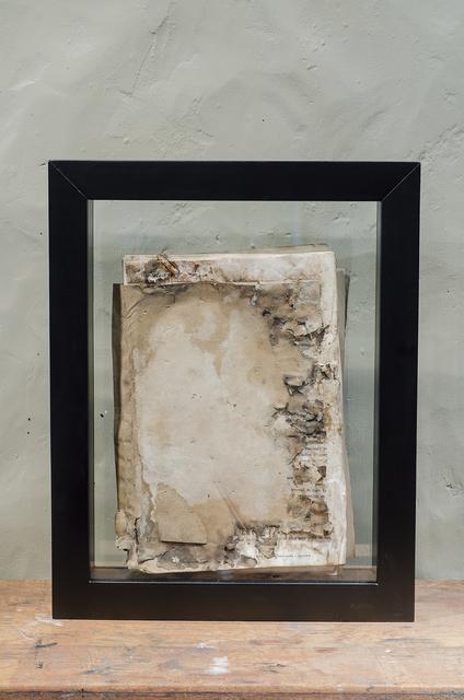 , 'Expediente 004/Expedientes judiciales sometidos a procesos de deterioro controlado,' 2013, Galería de la Oficina