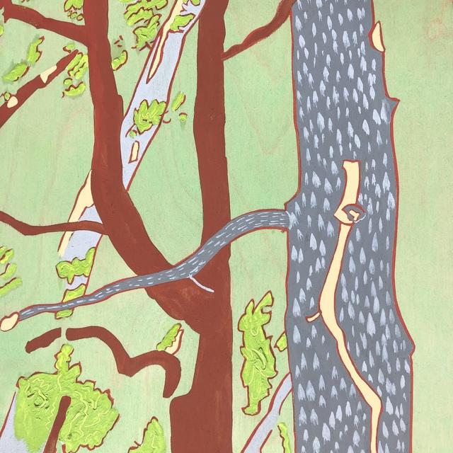, 'Gray Tree,' 2014, MiXX projects + atelier