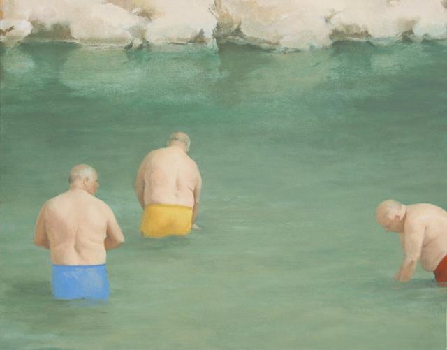 , '3 bañistas,' 2016, Galería Utopia Parkway