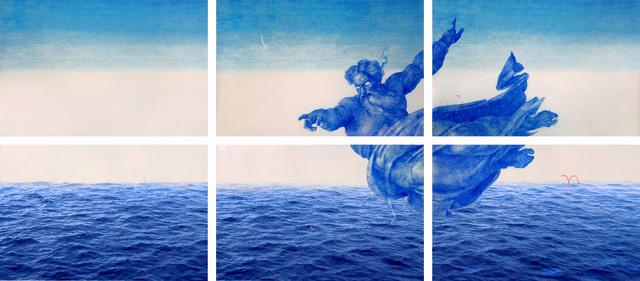 , 'Genèse –les eaux,' 2015, Galerie Liusa Wang